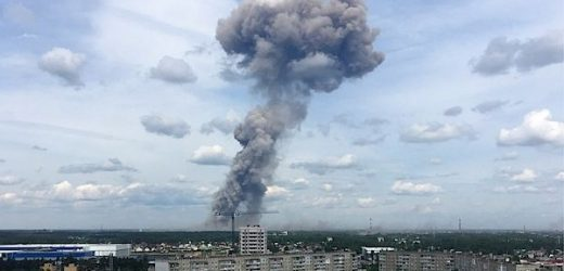 79 injures Russian explosives factory