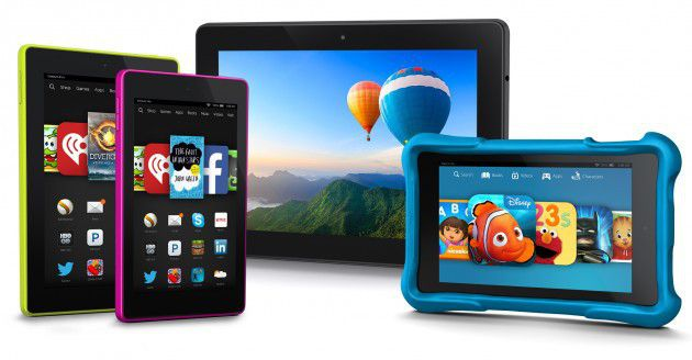 Amazon unveils new Fire tablets