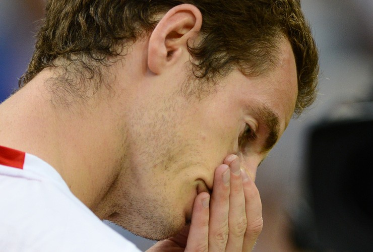 Andy Murray loses