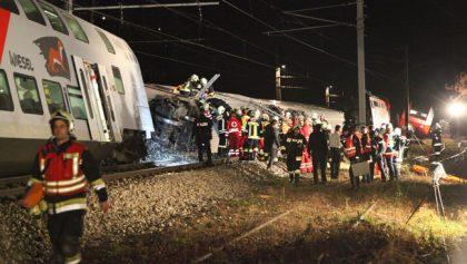Austrian Train Collision
