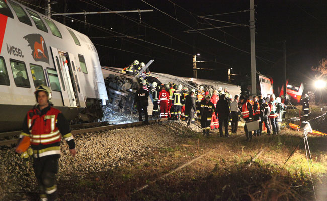 Austrian Train Collision