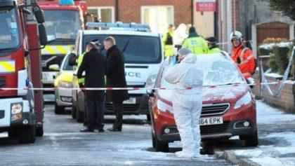 Children die fire in Salford