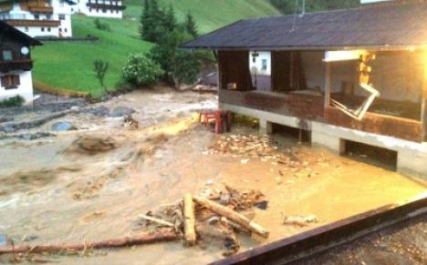 Dramatic scenes in Tyrol