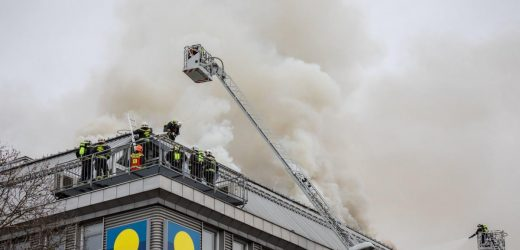 Fire At The Donauzentrum
