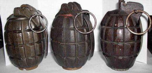 Grenade Found In Garage
