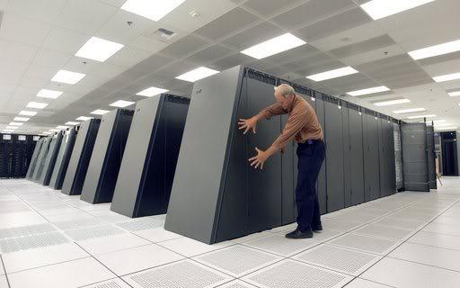 Huge Supercomputer
