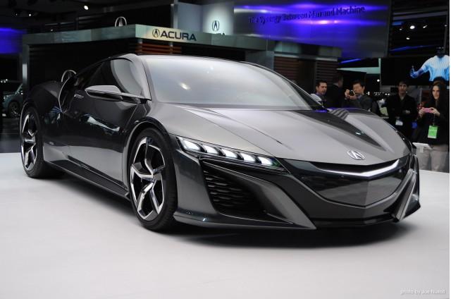 MI. 2014 Acura NSX Concept