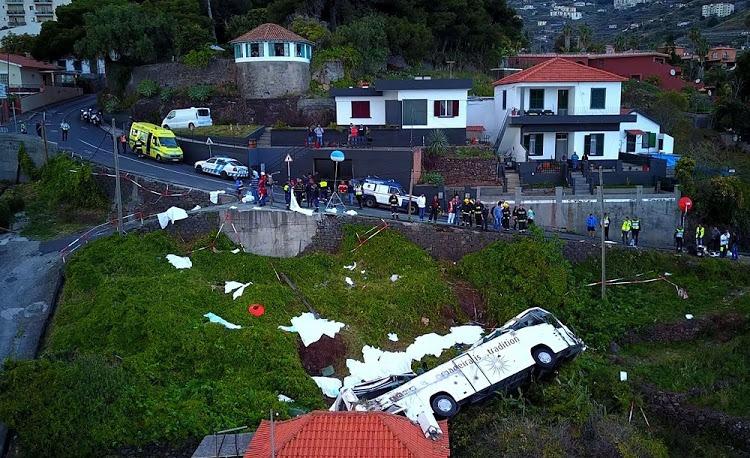 Madeira Island Bus Crash