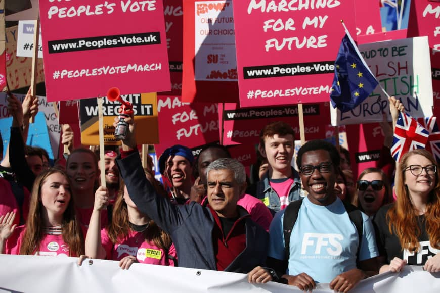 Mega March London