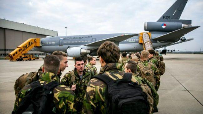 NATO military drills