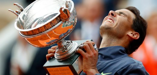 Rafael to win 12th French Open title