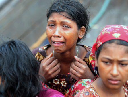 Rohingya civilians