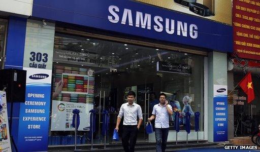 Samsung picks Vietnam