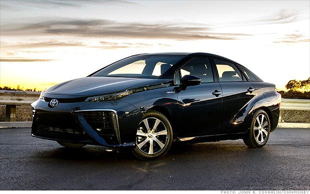 Toyota's futuristic cell car