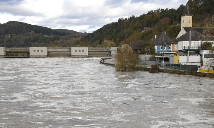 Weather Disaster In Austria