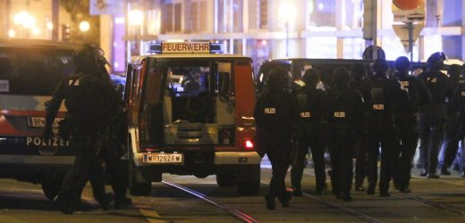 gunfire in the capital Vienna